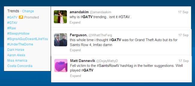 GAT V on Twitter